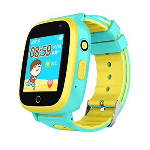awhao Kids Smart Watch Touch Screen Child Watch Phone Digital Wrist Watch  SOS Phone Watch for Children Age 3-12 Boys Girls(1 44inch)
