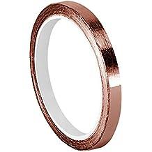 """TapeCase 0.125–6-1182cobre/acrílico adhesivo, cinta de doble cara de con conductor adhesive-converted de 3M 1182, 0.125""""x 6m, longitud: 6"""", anchura: 0.125"""""""