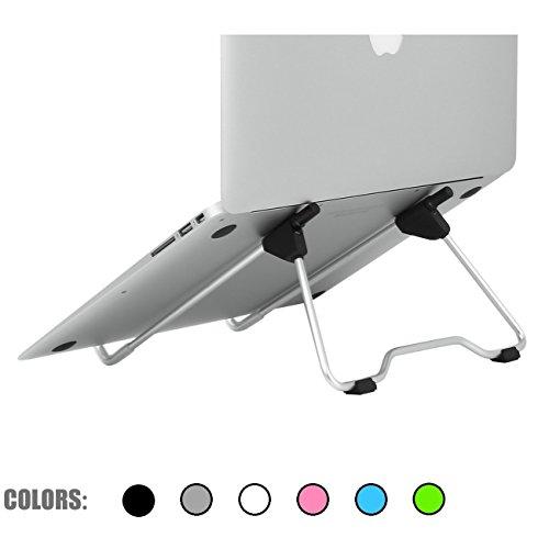 G-Hawk® Tragbar Laptop Stand Faltbar und Verstellbar Ergonomisch Universal-Notebook-Ständer für Schreibtisch Laptop / Notebook / ipad (Laptop Schreibtisch Ergonomische)