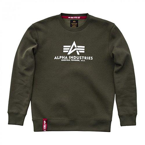 Alpha Industries Herren Sweatshirt oliv L