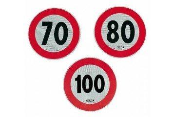 Bottari 18403 Adesivo Velocità Omologato, 80 Km/H