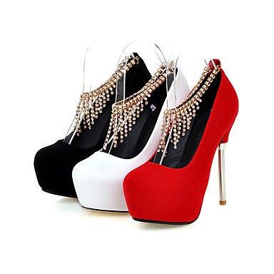 Moda Donna Sandali Sexy donna tacchi Primavera / Estate / Autunno tacchi / Piattaforma / Round Toe Wedding / Party & sera abito / Stiletto Black