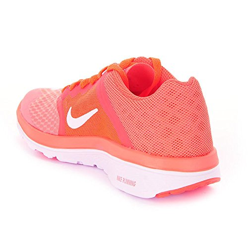Nike Damen Wmns Fs Lite Run 3 Laufschuhe Rosa (Atmc Pnk / White-Hypr Orng-White)