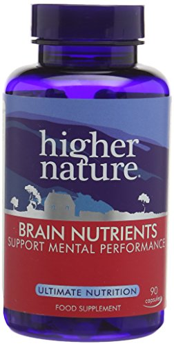 Higher Nature Advance Brain Nutrients - Pack of 90 Capsules