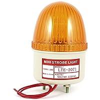 sourcing map Industriell LTE-2071 AC 220V Blinksignal Signallampe Warnlampe Licht gelb de DE
