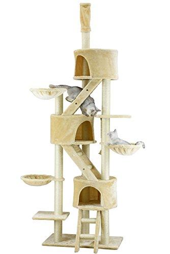 Go Pet Club großen Katze Baum beige Farbe (Pet-möbel Scratcher Condo)