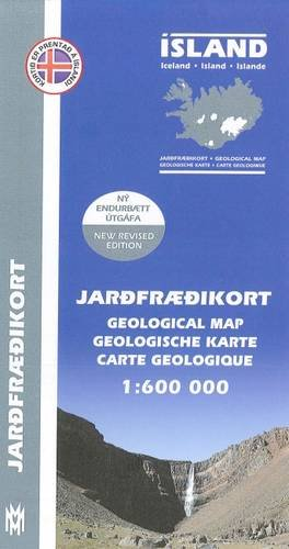 Iceland Geological Map 2014 por Anon