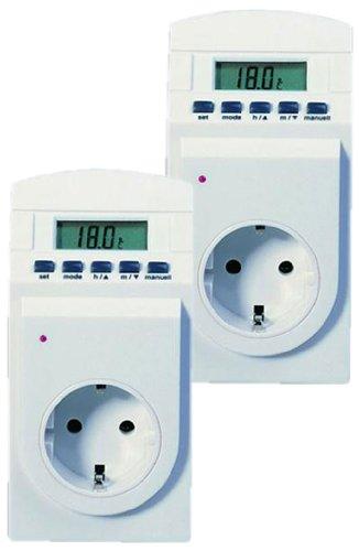 2er-Set TFA 37.3000 Thermo Timer - Schaltet Geräte nach Temperatur
