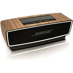 balolo® autocollant pour la Bose SoundLink Mini II en bois de noyer