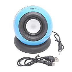 UBON MULTIMEDIA WIRED SPEAKER FOR PC/LAPTOP/MOBILE (SP-814) (BLUE)