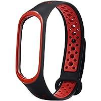 Cooljun pour Xiaomi Mi Band 3, Bracelet-Poignet Souple de Sport à ventouses de Remplacement léger et Multicolore