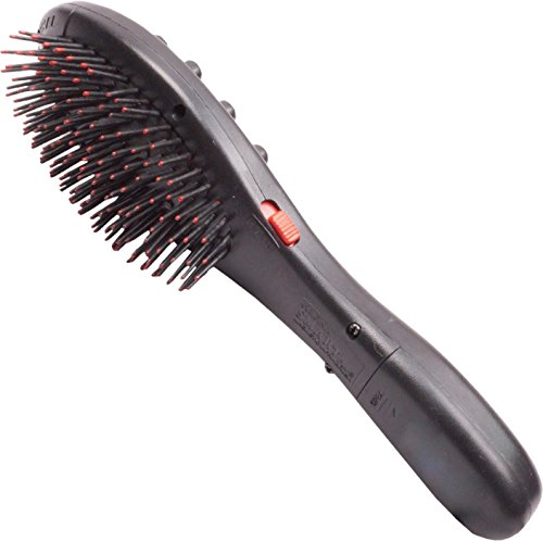 PERFECT SHOPO Magnetic vibrating Hair massager / Hair massager comb Acupressure Head Hair Brush Vibrator Massager  available at amazon for Rs.299