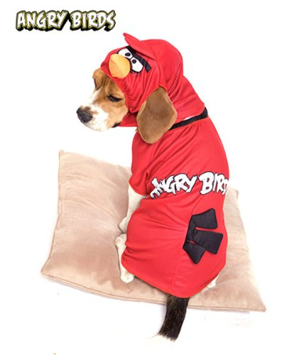 Angry Birds Red Bird Pet Costume Small (Red Bird Kostüme)
