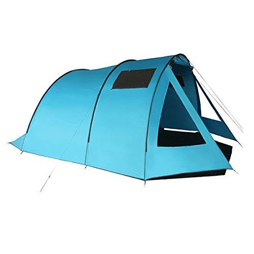 Familienzelt-FAIRY-TALE-fr-4-5-oder-6-Personen-Camping-Tunnelzelt-mit-3000-mm-Wassersule-von-BB-Sport-9603-Farbeblau