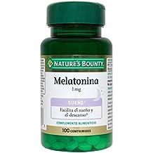 Natures Bounty Melatonina 1 mg Complemento Alimenticio - 100 Tabletas