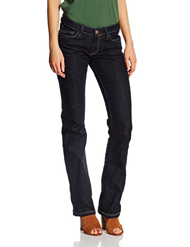 Cross Jeans Damen Laura Hose, Blau (Rinsed 444), W26/L30 (Herstellergröße: 26)