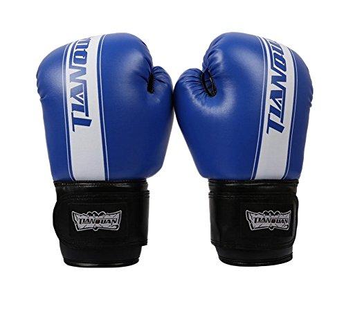 Boxen - Kickbox Glove Vollfinger-Handschuhe -MMA 3 ----- Blau