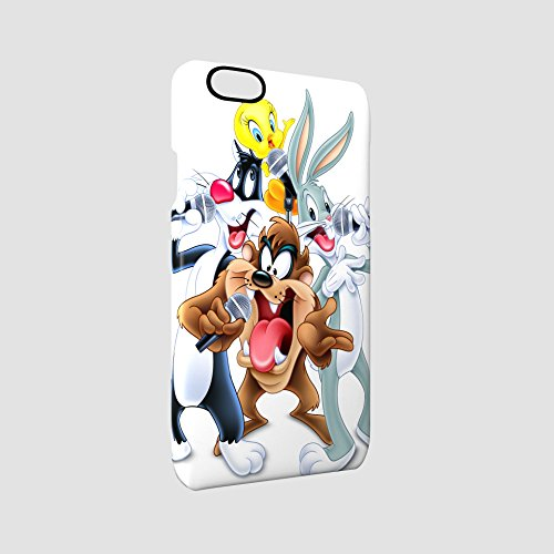 looney-tunes-karaoke-glossy-hard-snap-on-protective-iphone-6-iphone-6s-case-cover