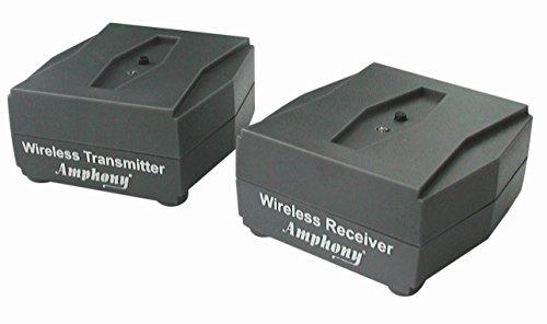 Funkset für Subwoofer und Aktivlautsprecher - Macht Ihren Subwoofer kabellos - Auch ideal für Aktivlautsprecher - Digitale Funkübertragung in CD-Qualität (bessere Audioqualität als Bluetooth)