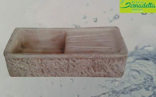 Lavello Lavabo in Cemento da Giardino Lavello - Misura 80x40x20 cm