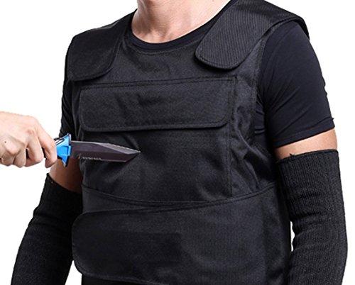 TFCFL® Schutzweste kugelsicher und stichhemmend, Taktische Sicherheit, ballistische Weste vorne und hinten