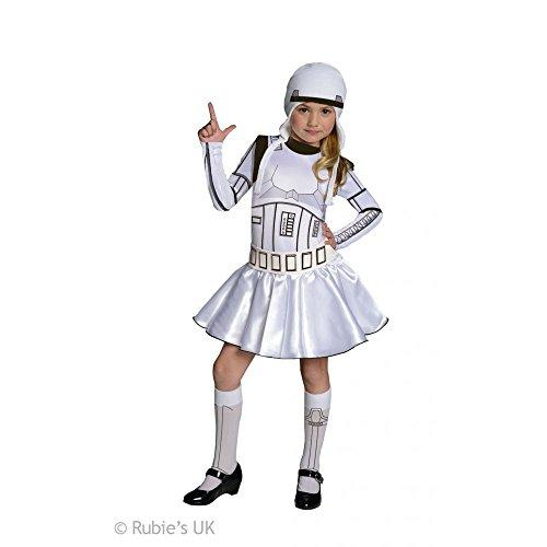 für Mädchen (Stormtrooper Mädchen Kostüme)