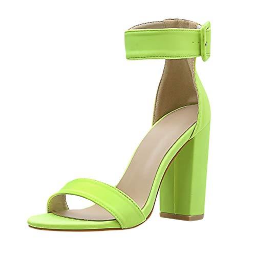 Wawer Damen Sandalen Absatzschuhe Hohe Slingback Sandaletten Sandals Knöchelriemchen Absatzschuhe Slingback High Heels Sandalen 6-zoll-sexy Slingback-schuh