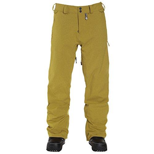 Volcom Herren Snowboardhose Freakin Snow Chino Pants Mustard, L -