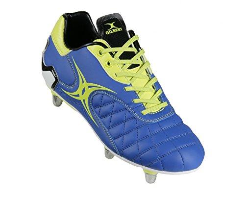 Sidestep Revolution SG 8 Crampons - Chaussures de Rugby blue