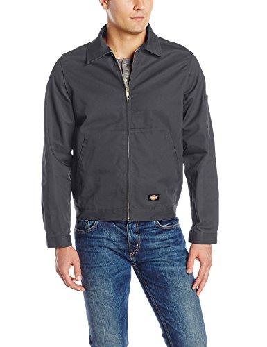 Dickies Herren Jacke Streetwear Male Jacket Unlined Eisenhower Grau (Charcoal Grey Ch)