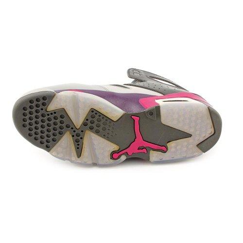 Nike, Herren Sneaker  GRIS/VIOLET Grau