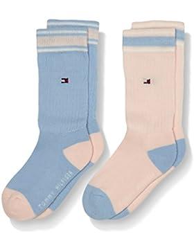 Tommy Hilfiger Mädchen Th Kids Iconic Sports Socken 2p, 2er Pack