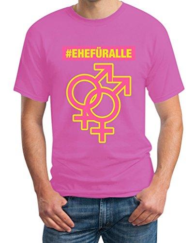 #EHEFÜRALLE - Zeig wofür du stehst - Ehe für alle T-Shirt Rosa