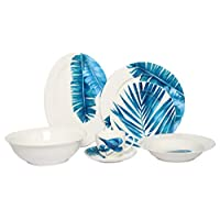 Homes r us Kb 32 Pcs Dinner Set, Multicolour - 35 x 29 x 31 cms