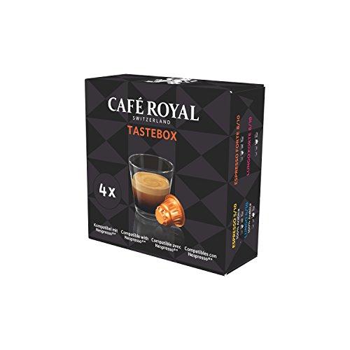 Café Royal Tastebox Nespresso Lungo, Espresso Forte, Probiergröße, 20 g -