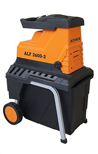 ATIKA Leise-Walzenhäcksler ALF 2600-2 !!! Neues Model ***NEU***