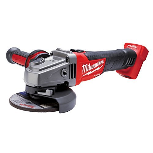 M18-tools Fuel Milwaukee (Milwaukee M18 CAG-125X/0 Akku-Winkelschleifer in HD-Box)