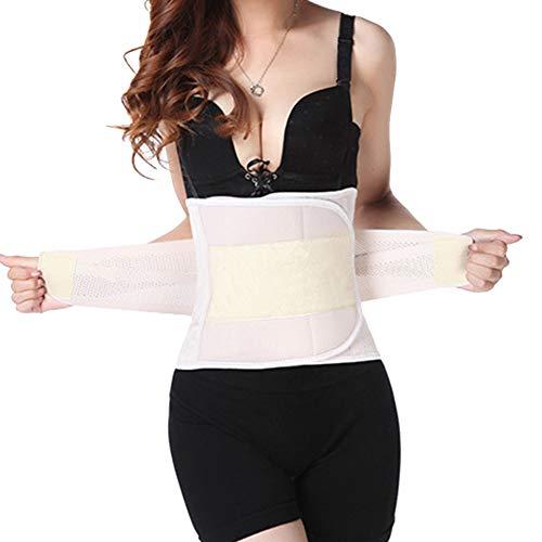 QitunC Damen Bauchweg Nach Geburt Slimming Belt Schlankheits-Gürtel Figurformend Bauchband Gurt Nackt M