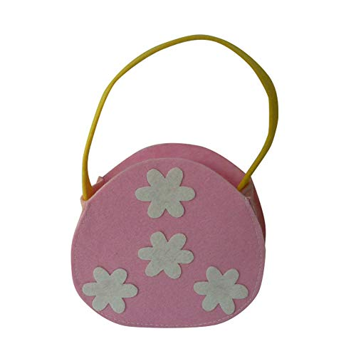 CAheadY Tragbare Handled Ostern Blume Candy Box Festival Party Decor Geschenk Tasche Pink (Candy Taschen Lego)