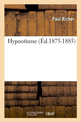 Hypnotisme (Ed.1875-1885) (Sciences)