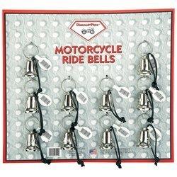 Diamond Plate Motorcycle Bell Set 10 Pc Set
