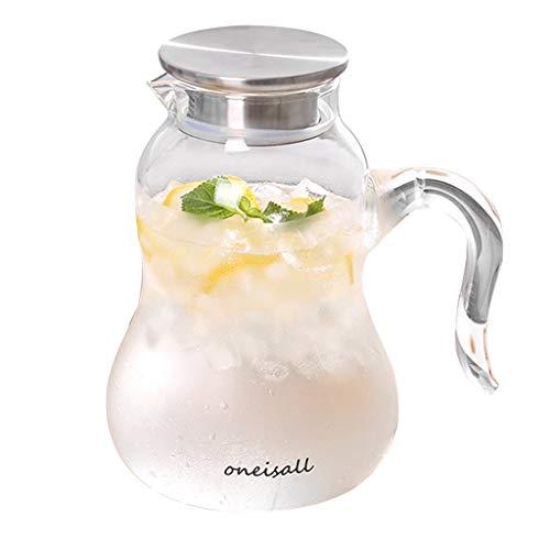 Filterkannen Glaskessel Kaffeekanne Zitronenkanne Küchensaftkanne Wohnzimmerteekanne Hochtemperaturbeständige Wasserflasche, Kann Durch Feuer Erhitzt Werden Wassersprudler