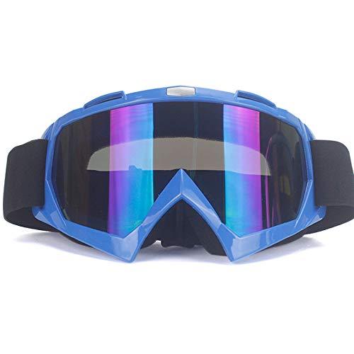 KOMNY Erwachsene Motocross Goggles Motorradbrillen Brillen ATV Clear Lens Ski Helm Googles Off-Road für Kawasaki Oculos Gafas, 7 (Google Gafas)