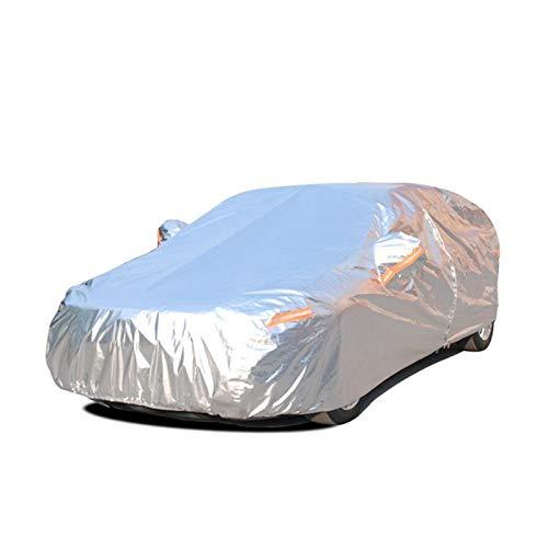 ERQINGCZ Wasserdichte Autoabdeckung Aluminium-Wasserdichte Autoabdeckungen Supersonnenschutzstaub Regenautoabdeckung Volles Universalauto SUV Schützend FürToyota