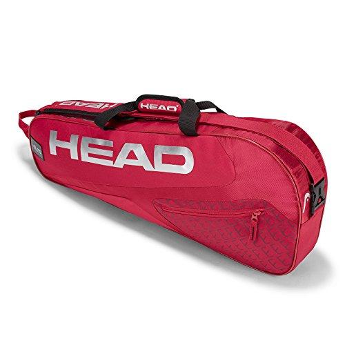 Head Elite 3R PRO Portaracchette, Unisex, Elite 3R PRO, Red/Red