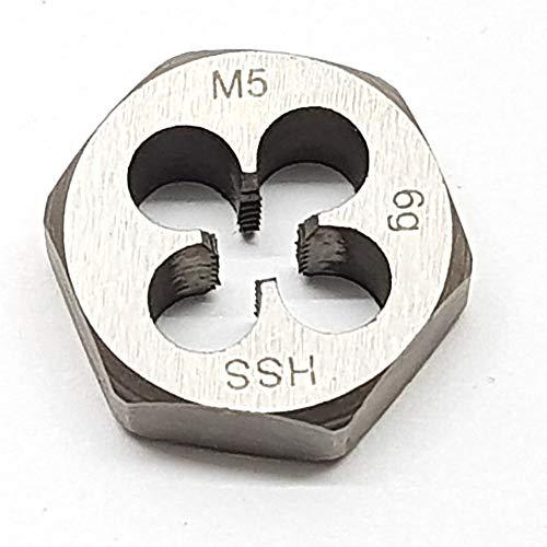 M5 Schneideisen SECHSKANT Schneidmutter Regelgewinde