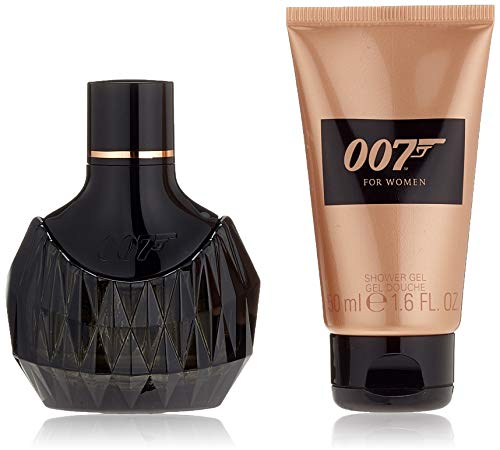 James Bond 007 Duftset for Woman I Eau de Parfum 30ml + Showergel 50ml, 1er Pack (1 x 80 ml)