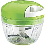 Honest Manual Cutter/Chopper For Vegetable Fruits Nuts Onions Chopper Hand Pull String Slicer Mixer Food Processor With Removable Blade