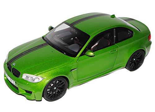 Preisvergleich Produktbild BMW 1er 1M M E82 Coupe Java Grün 2007-2013 1/18 Minichamps Modell Auto