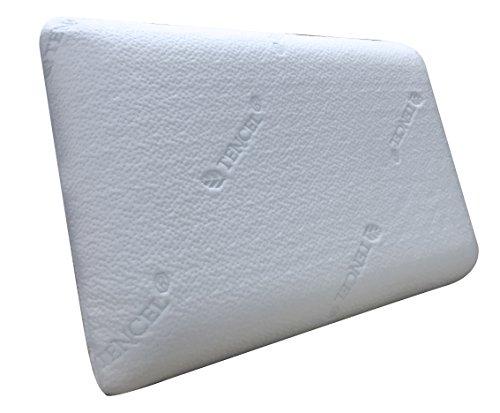 Pikolin Home - Almohada viscoelástica Lyocell, híper-transpirable con doble funda, 40 x 64 cm, altura 12 cm